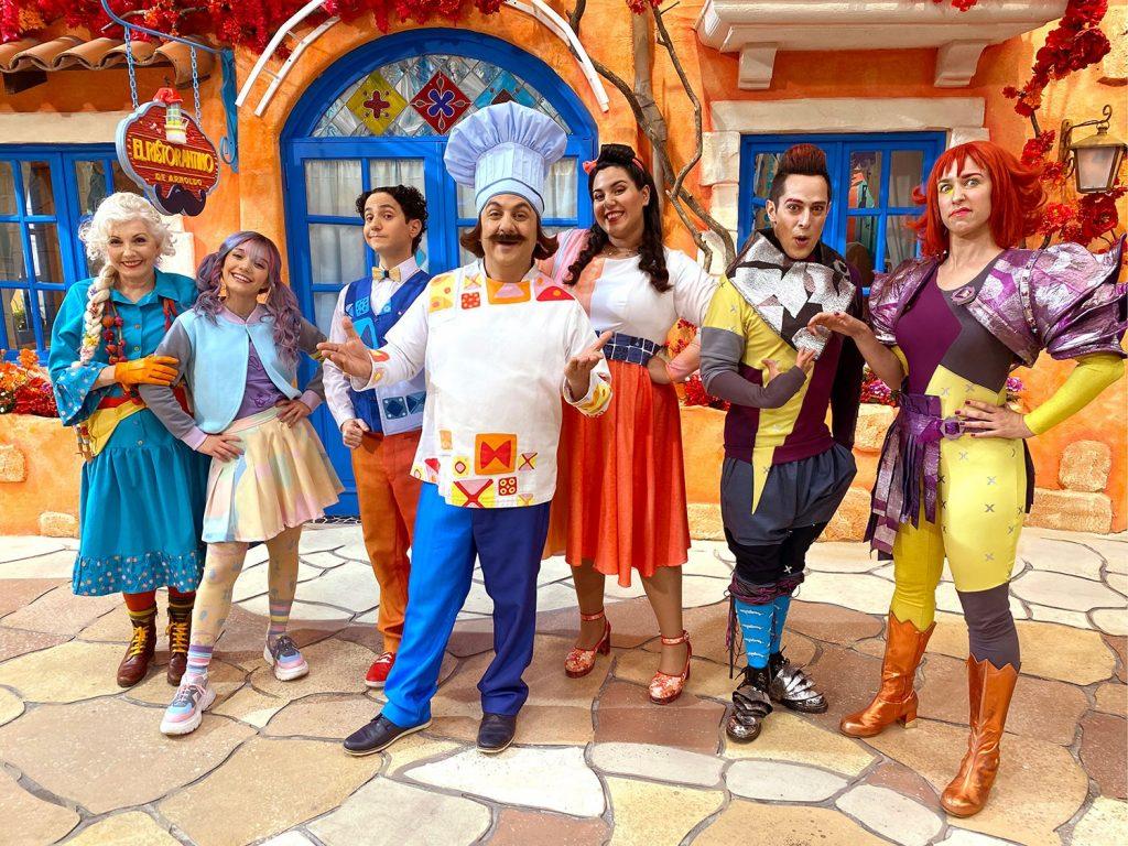 Elenco de Il Ristorantino de Arnoldo, do Disney+