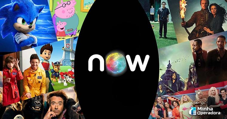 Divulgação do NOW, da Claro net.