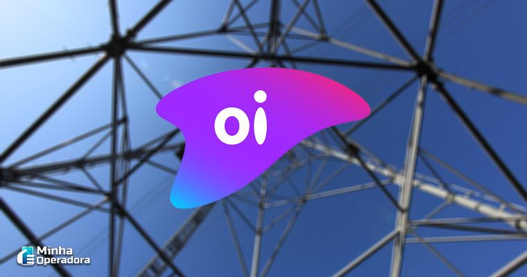 Ilustração Torre + Logo da Oi