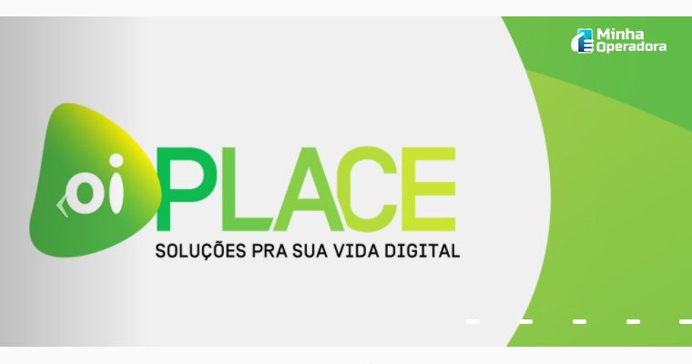 Logotipo do Oi Place