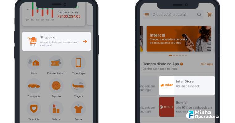 App do Banco Inter (Intercel)