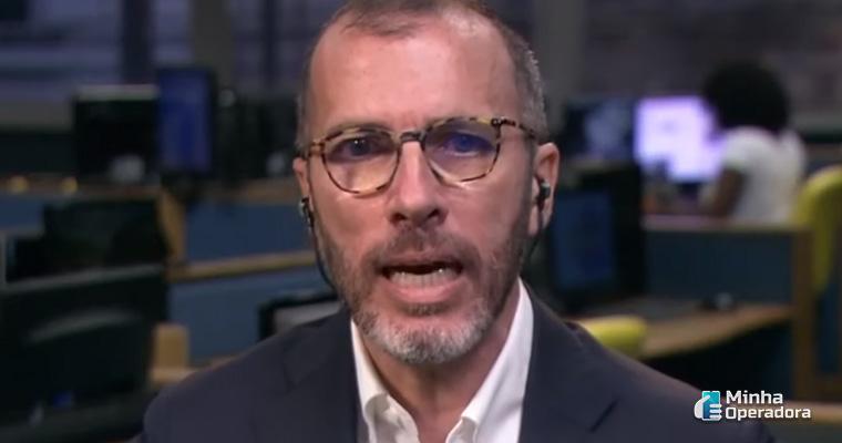 Pietro Labriola, CEO da TIM. Imagem: Reprodução YouTube