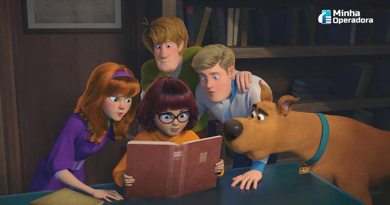 Imagem: Cena de Scooby-Doo (Scooby! O Filme)