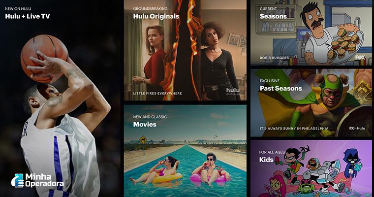 Catálogo do Hulu