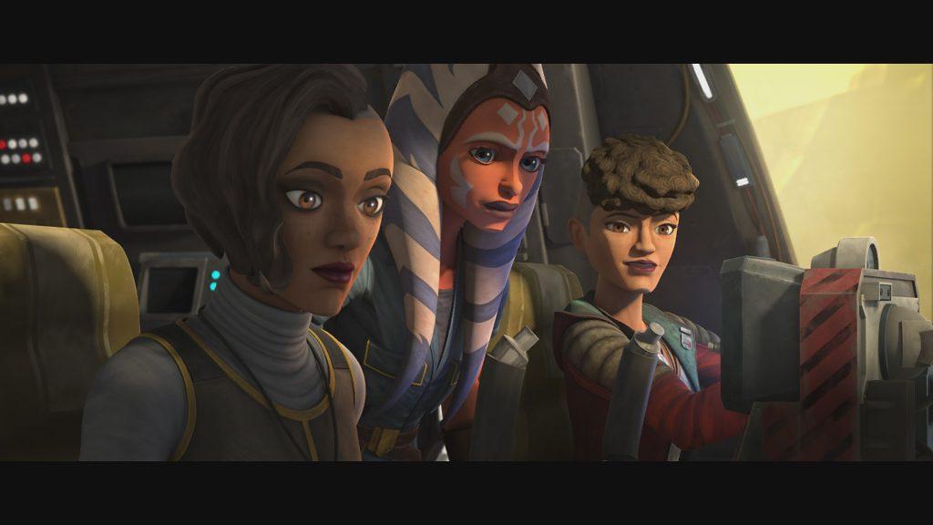 Cena de Star Wars: A Guerra dos Clones, do Disney+