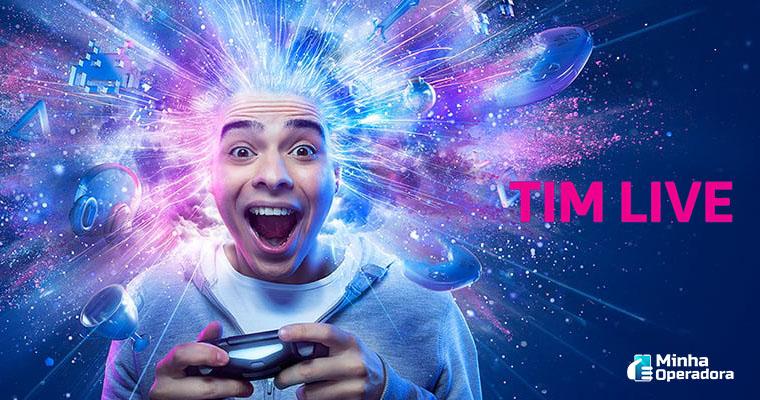 Divulgação site TIM Live