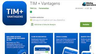 TIM + Vantagens ganha novo recurso para acúmulo de pontos e bônus
