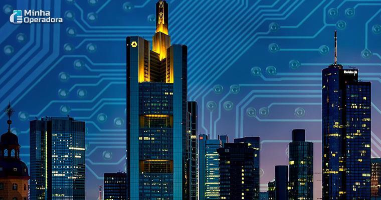 Ilustração - Smart Cities (5G)