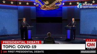 Debate nos EUA faz CNN Brasil bater recorde de audiência
