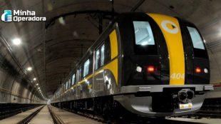Linha 4 do metrô de São Paulo passa a oferecer Wi-Fi gratuito