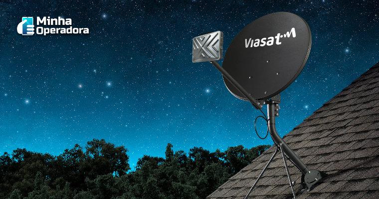 Viasat expande área com internet via satélite para todo o Brasil
