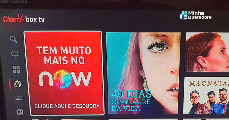 Análise: Claro Box TV ainda 'engatinha' no streaming