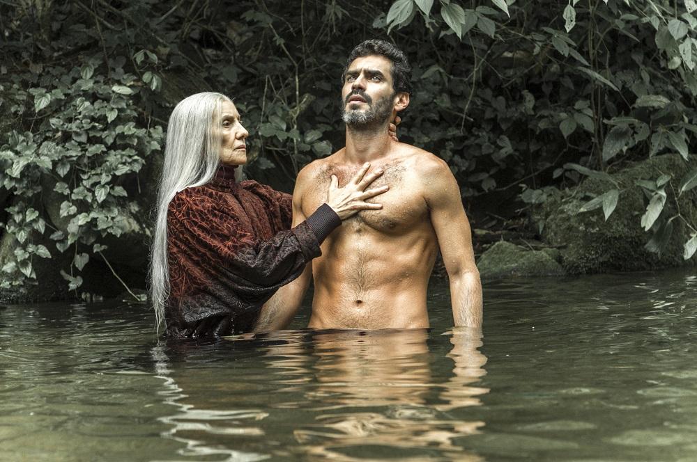 Cena de Desalma, do Globoplay. Imagem: Globo/Estevam Avellar