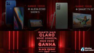 Claro oferece Smart TV, Alexa e outros 'brindes' na Black Friday
