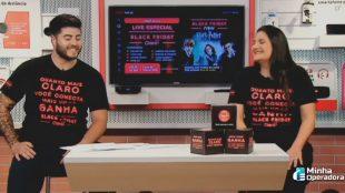 Claro promove live da Black Friday 2020 nesta sexta