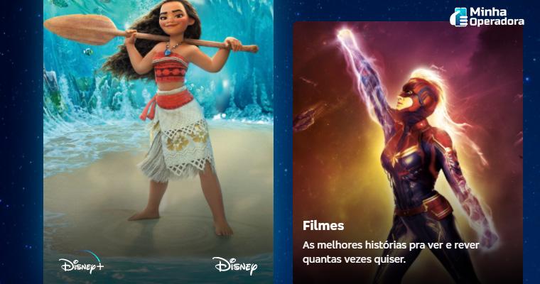 Imagem: Hotsite da parceria entre Bradesco e Disney+