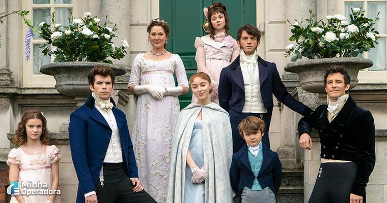 Bridgerton, nova série da Netflix. Imagem: Divulgação Netflix