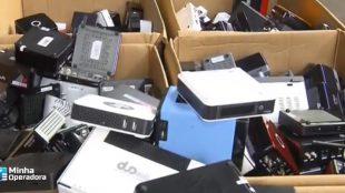 Operação destrói 160 mil aparelhos de IPTVs piratas