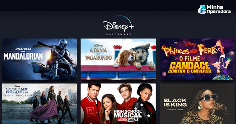 Conteúdos originais Disney+