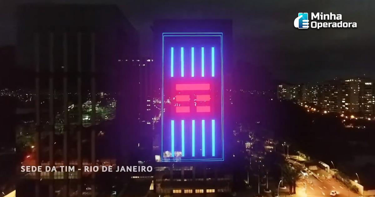 Sede da TIM no Rio de Janeiro