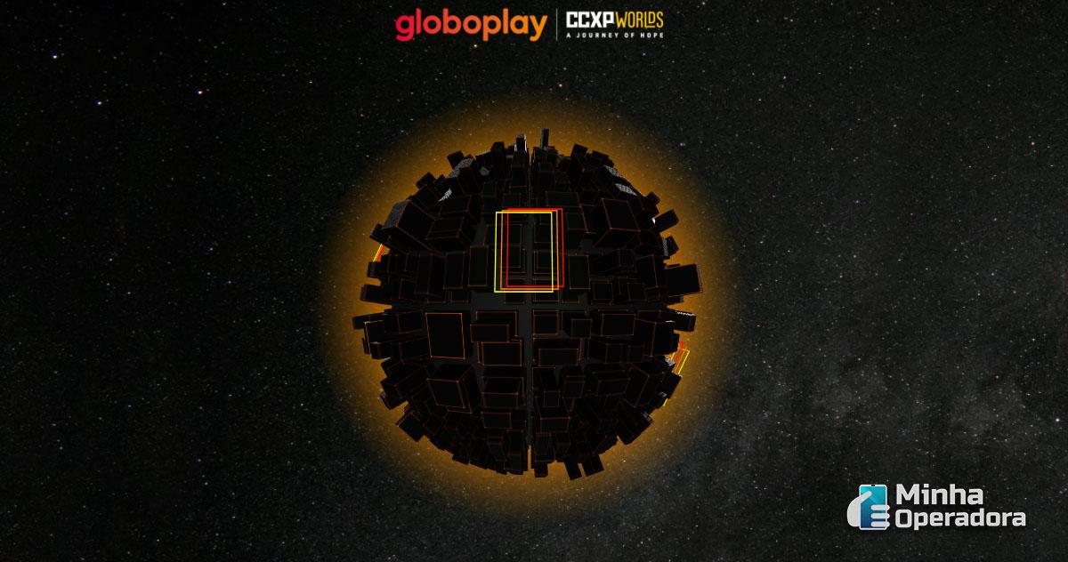 Imagem: Ativação do Globoplay na CCXP Worlds