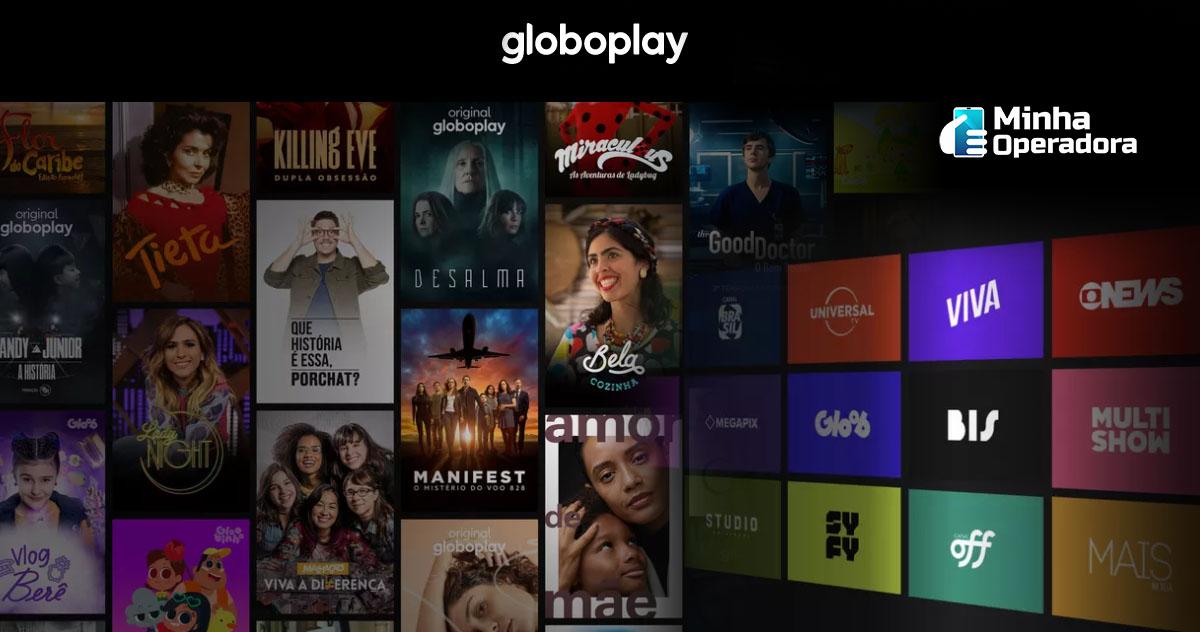 Conteúdo do Globoplay