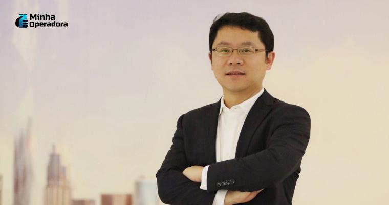 Sun Baocheng, presidente da Huawei Brasil - Imagem: Divulgação LinkedIn