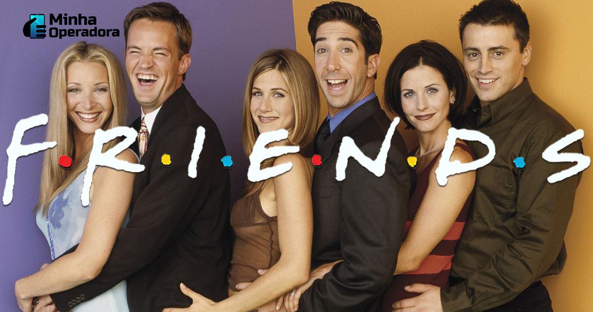 Série Friends. Imagem: Divulgação Warner Bros.