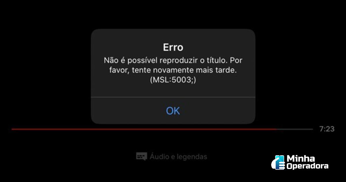 Erro na Netflix