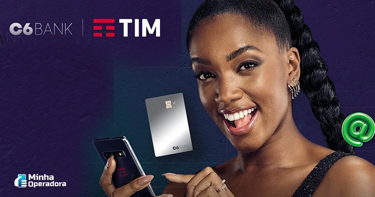 Parceria da TIM com o C6 Bank