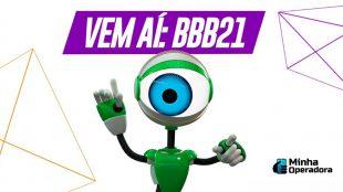 Pay-per-view do BBB21 será transmitido pelo NOW, da Claro net