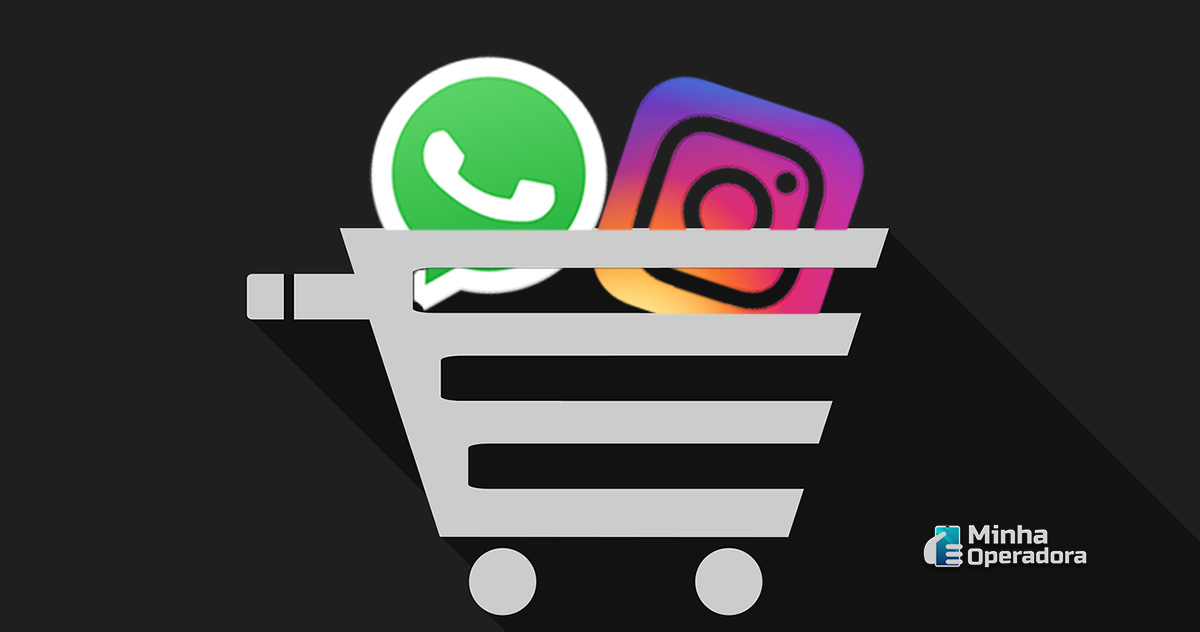 Ilustração WhatsApp e Instagram