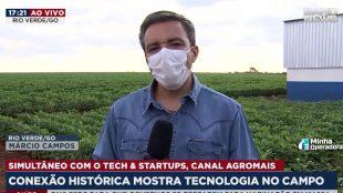 AgroMais e BandNews transmitem 1º link 5G ao vivo da TV brasileira