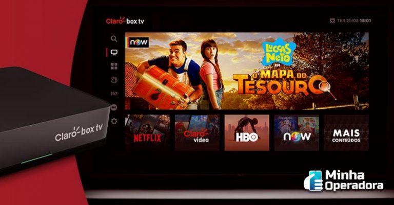 'Claro box tv' passa a ser comercializado em 71 novas cidades