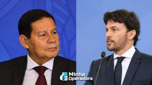 Fábio Faria exclui Mourão das discussões sobre o 5G