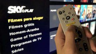 SKY Play passa oferecer via streaming canais ao vivo da TV aberta
