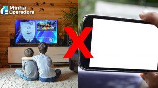 TV foi a principal ferramenta de diversão durante a pandemia