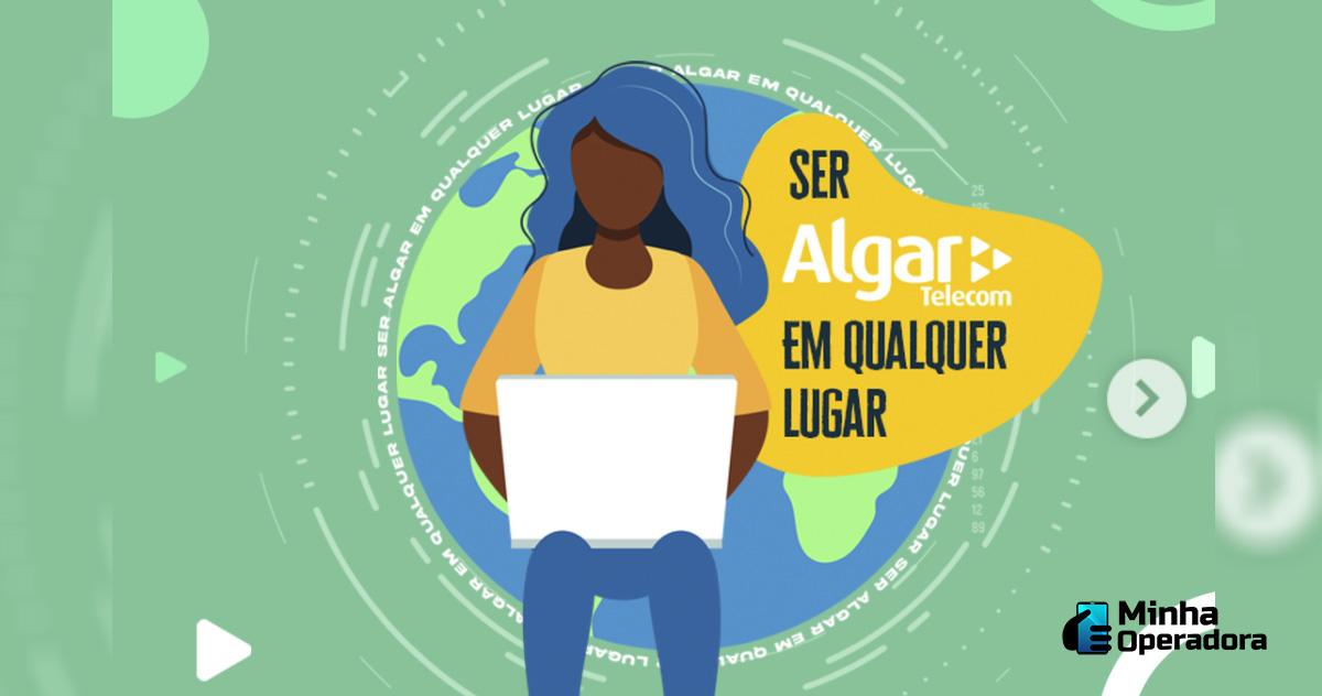 Campanha da Algar Telecom Instagram
