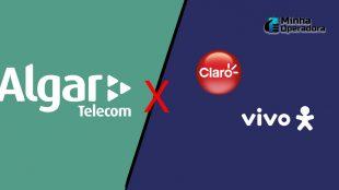 Algar Telecom se manifesta contra acordo entre Vivo e Claro