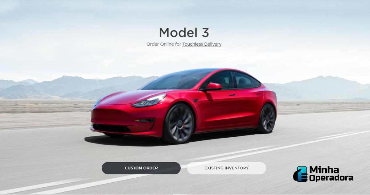 Site da Tesla