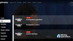 Globoplay registrou falha na estreia do BBB21
