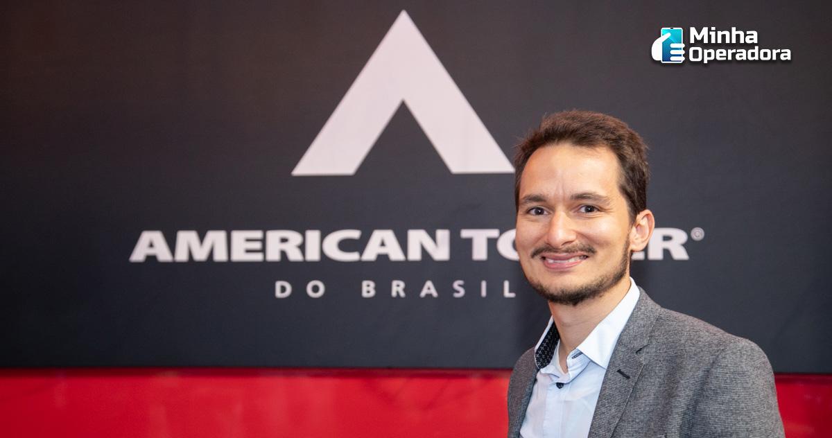 Imagem: Daniel Laper, diretor de Novos Negócios e IoT da American Tower do Brasil.