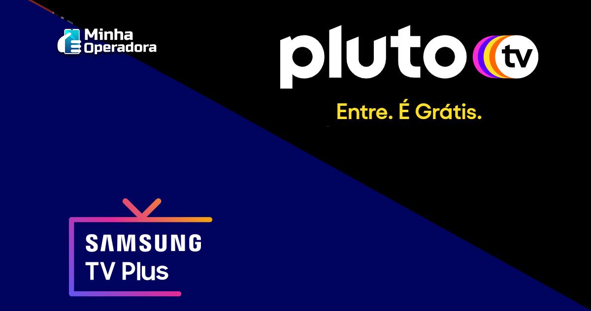 Pluto TV e Samsung TV Plus