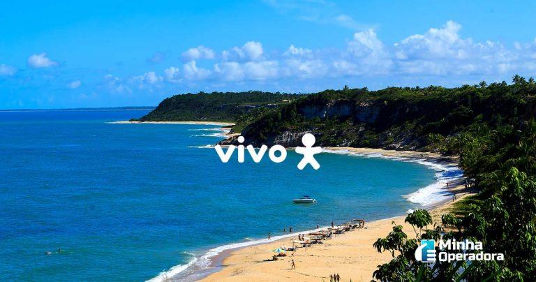 Região da Bahia ganha fibra óptica da Vivo