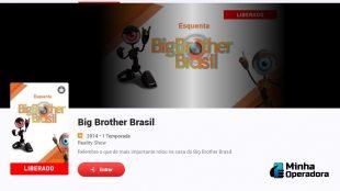 SKY Play libera edições passadas do Big Brother Brasil