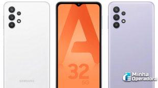 Galaxy A32: Anatel homologa celular 5G 'barato' da Samsung