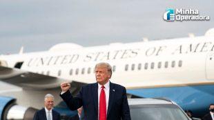 Trump ainda mantém ofensiva contra a Huawei