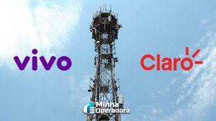 Vivo pretende compartilhar infraestrutura de rede com a Claro