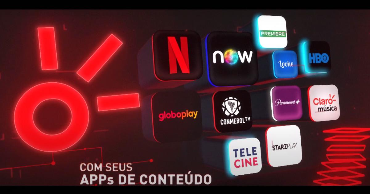 Comercial do Claro Box TV