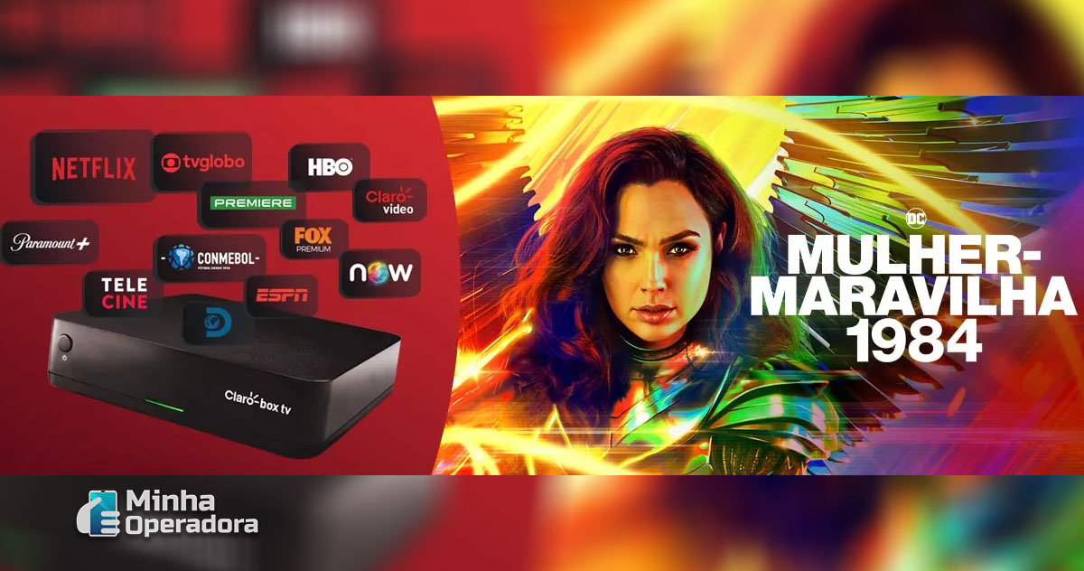 Divulgação Claro Box TV